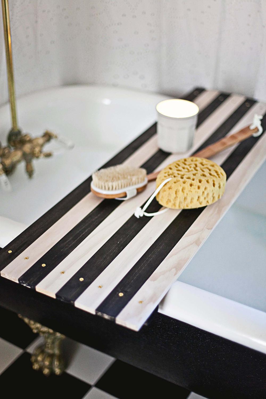 a beautiful mess bath shelf