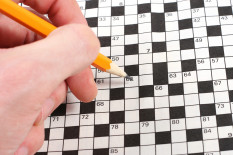 Crossword puzzle | Pic: Shutterstock
