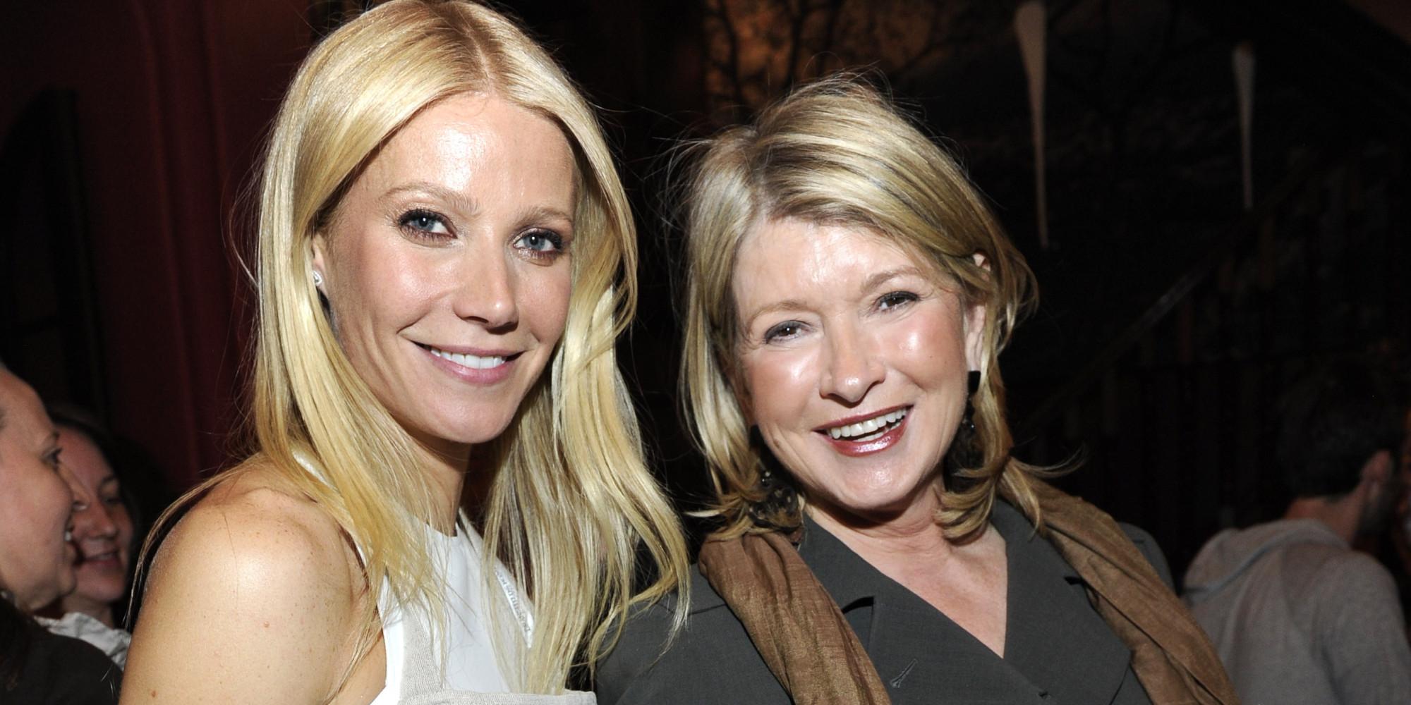 Martha Stewart Openly Mocks Gwyneth Paltrow With 'Conscious Coupling ...