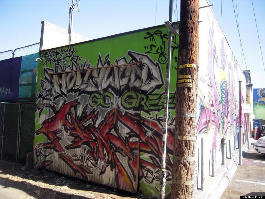 hollywood street art