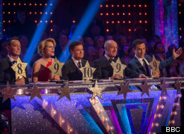 Who Landed The First 10 Of 'Strictly' 2014?