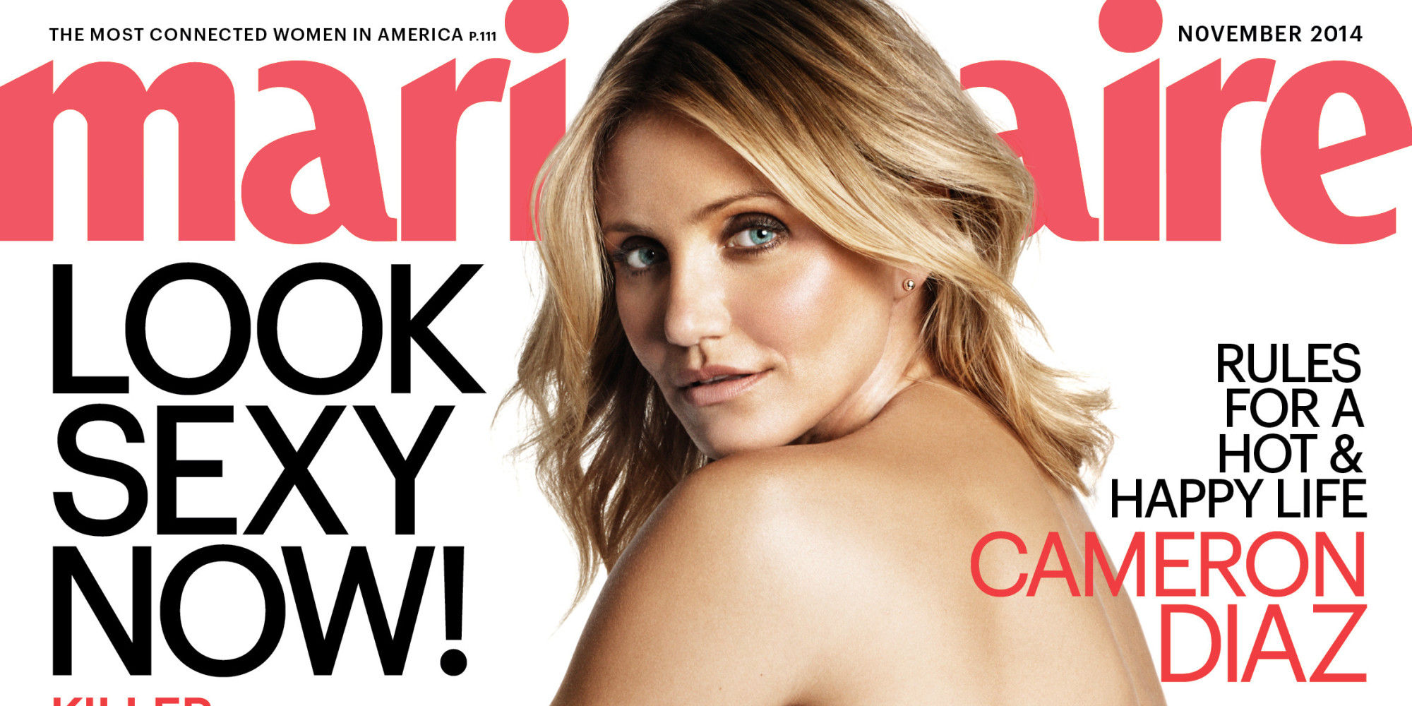 Cameron Diaz Gets Real About Marriage And Kids In Marie Claire