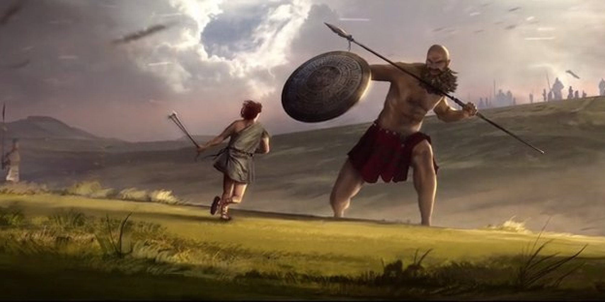 a comparison of the two leaders arthur becomes king and david and goliath A comparison of arthur becomes king and david and goliathtwo of the most renowned leaders of all time, king arthur and king david,have emerged from.