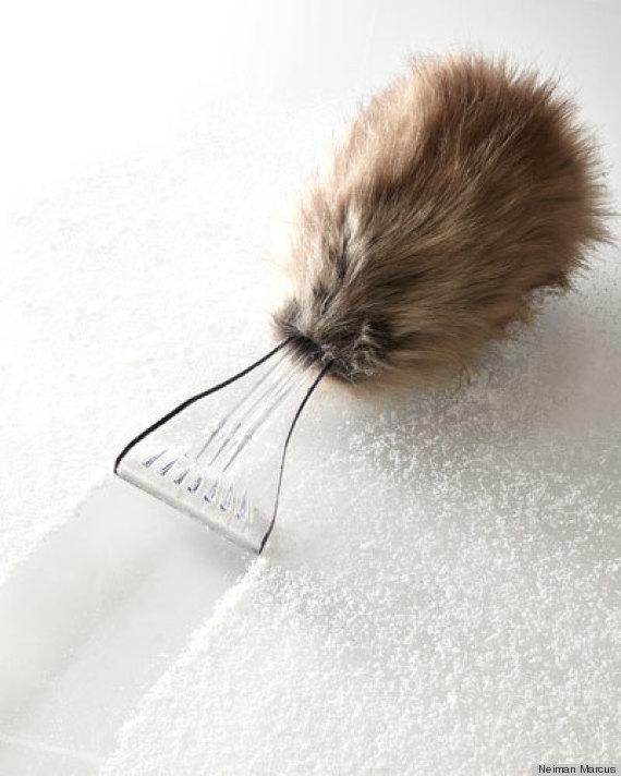 faux fur scraper