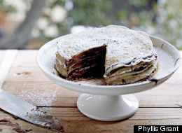 How To Make Nutella Crepe Cake