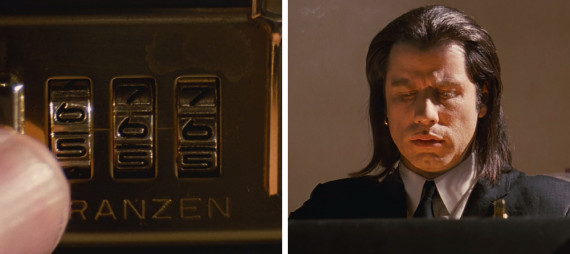 pulp fiction briefcase