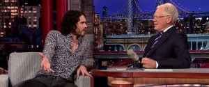 RUSSELL BRAND DAVID LETTERMAN