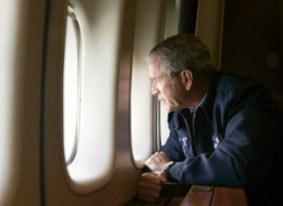 Bush Katrina Air Force One