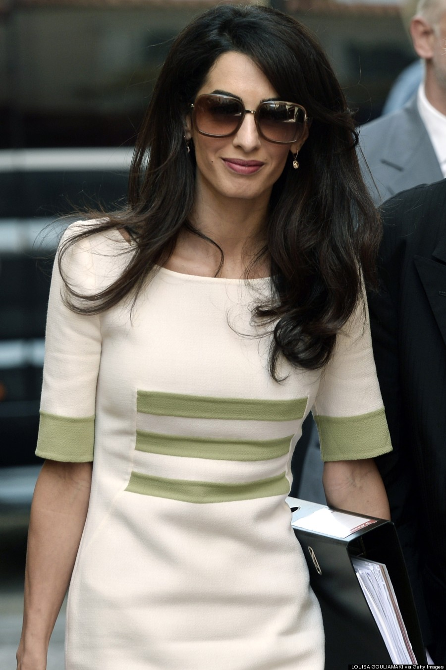 Amal Clooney Goes Back To Work In Chic Outfits