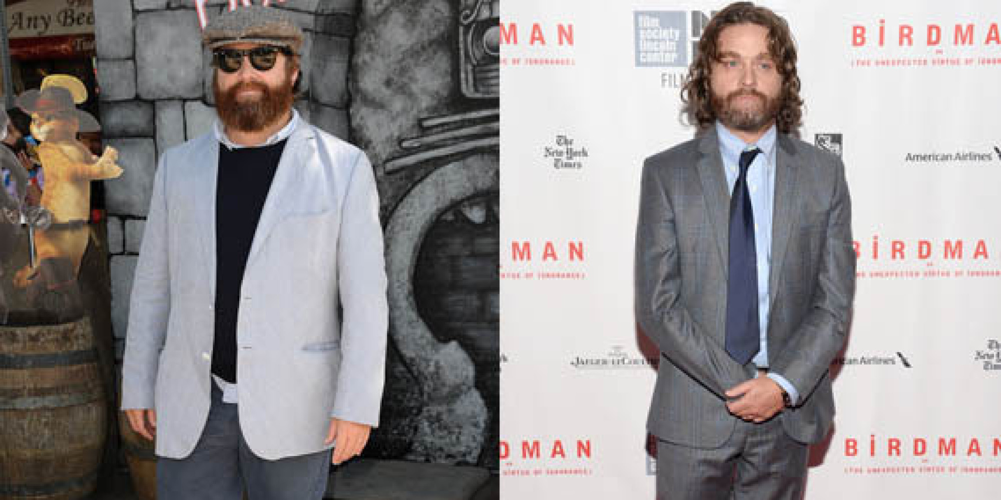 weight loss zach galifianakis