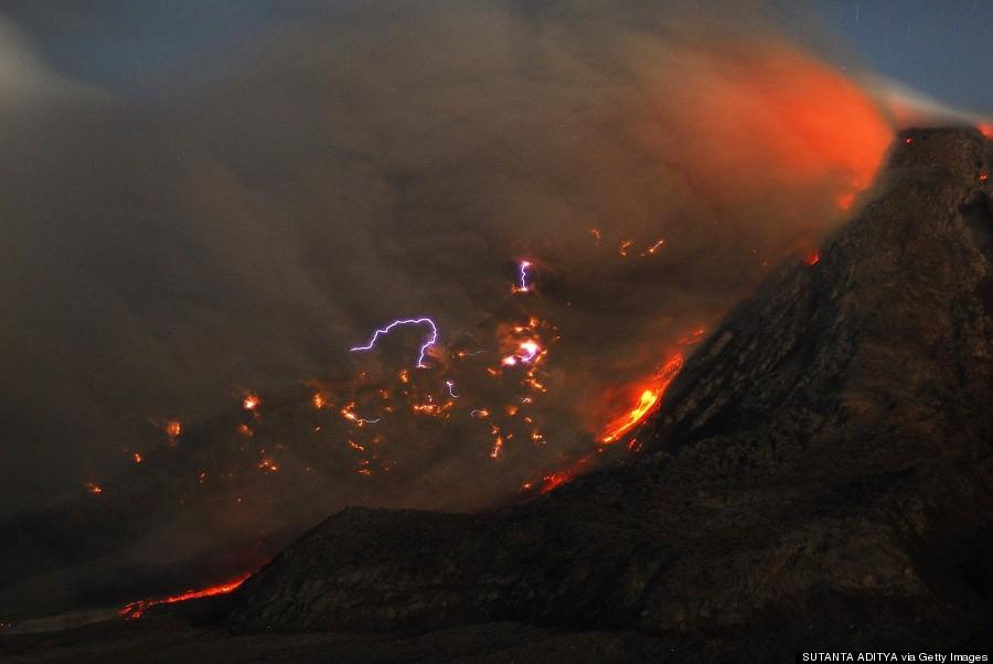 Výsledek obrázku pro Sinabung