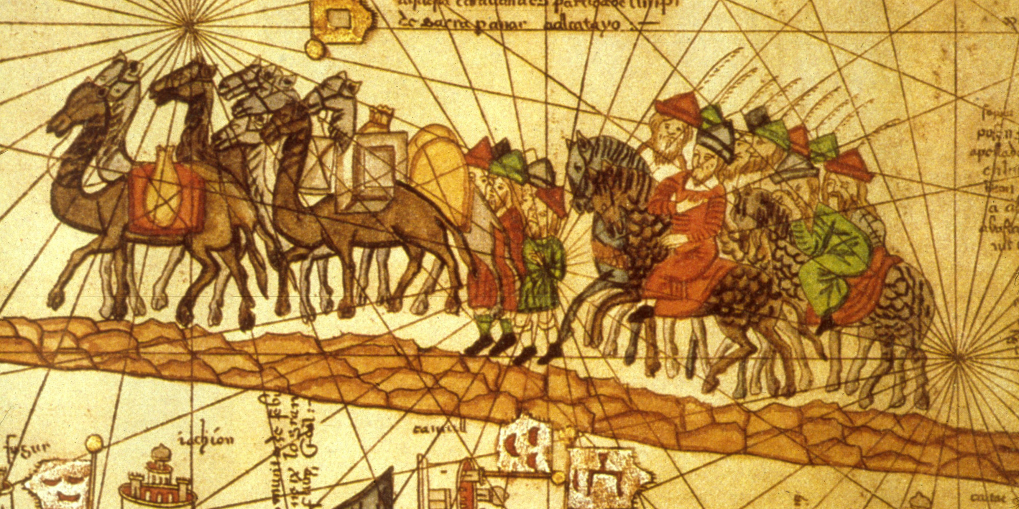 Excellent Caravans On Silk Road