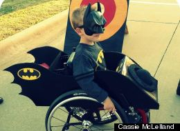 Mom Cleverly Dresses Up Son's Wheelchair Each Halloween