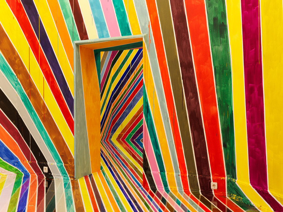 This Vibrant Rainbow Room Is An Optical Illusion That Can Swallow