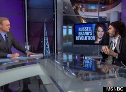 Brand Peaks On MSNBC - Nails Fox News, The Daily Mail And The Tories
