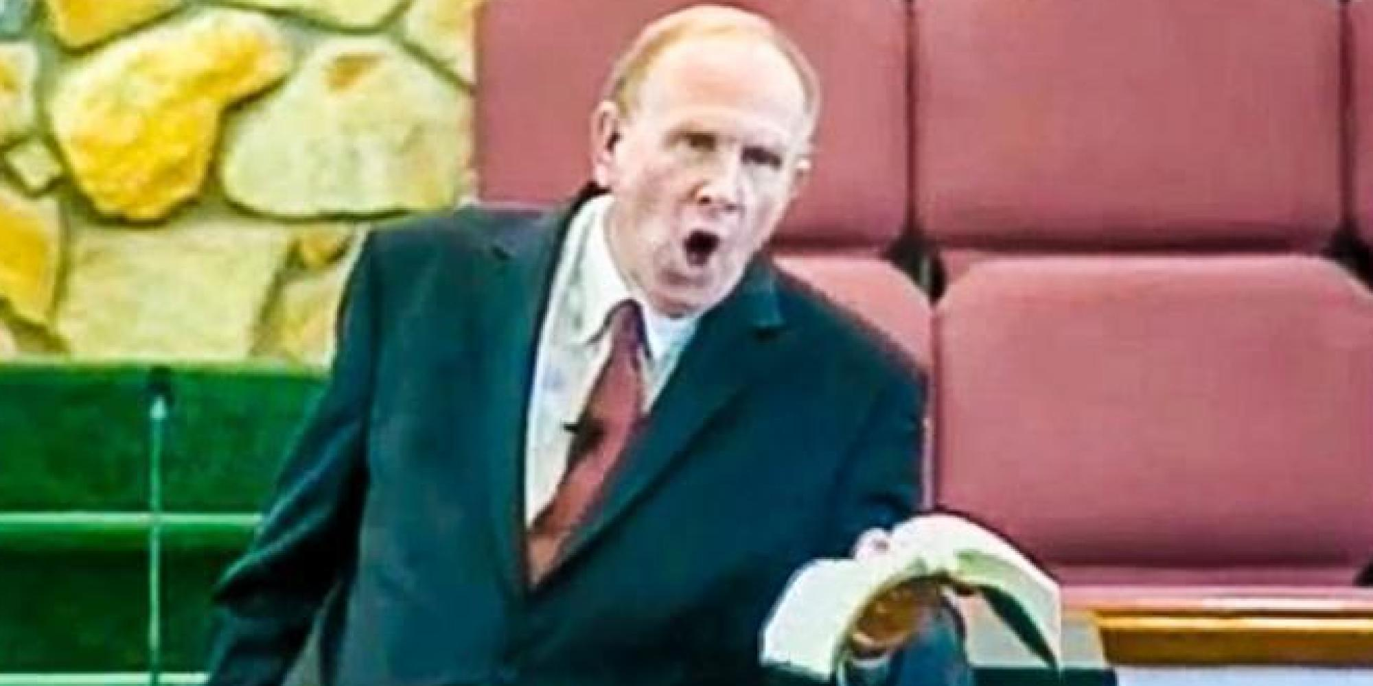 Ron Baity Baptist Preacher Claims God Will Send