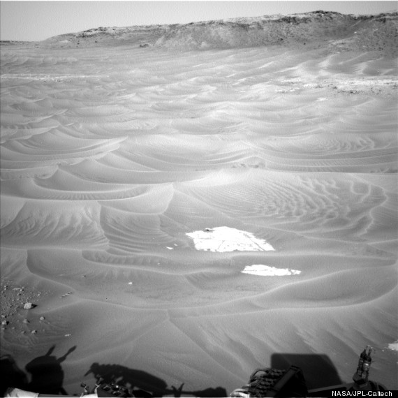 gale crater dunes