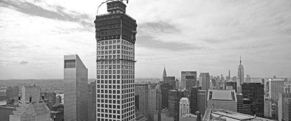New york il super attico a 400 metri di altezza regala for Attico a manhattan