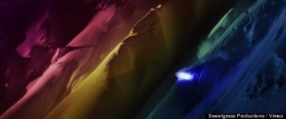 lightsuit skiing segment