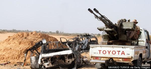 Officials: Egypt's Warplanes Bombing Islamist Militias In Libya