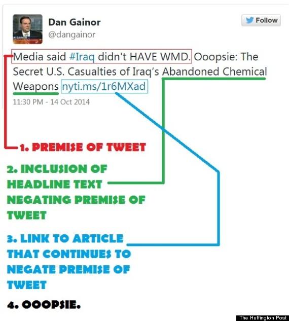 gainor tweet eat the press