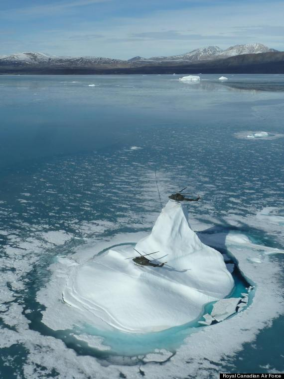 helicopters arctic canada