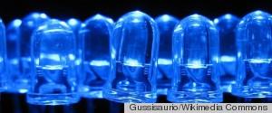 BLUE LIGHT EMITTING DIODES