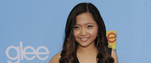 CHARICE ON THE RED CARPET FOR GLEE