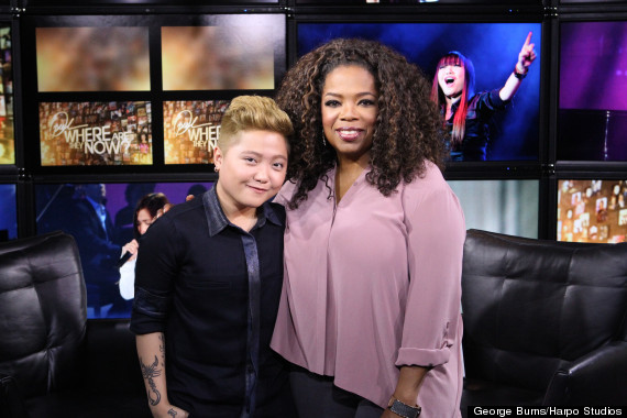 charice with oprah in 2014
