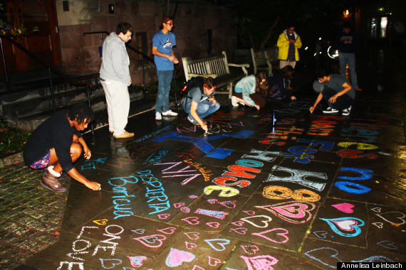 yale students mural