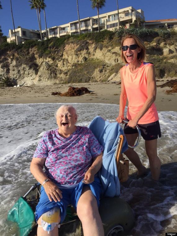 grandmother ocean picture
