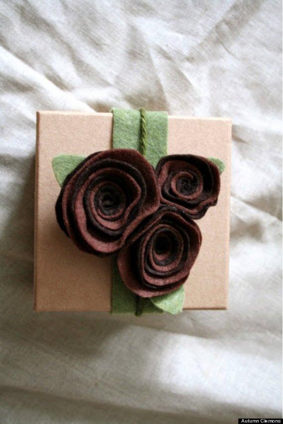 felt gift wrap