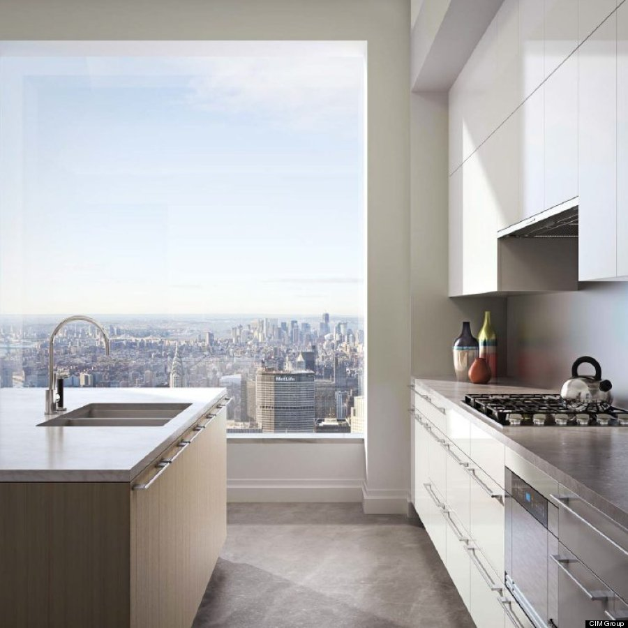 Nyc Appartment: 432 Park Avenue Offers A $95-Million View Of New York (PHOTOS