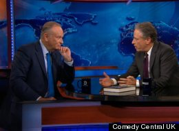 Jon Stewart And Bill O'Reilly Debated White Privilege On 'The Daily Show', And It Turned Into A Shouting Match