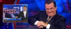COLBERT HANNITY WORK OUT