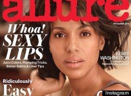 Let Kerry Washington Be Your Guide To 'No Makeup' Makeup