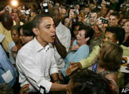 Obama In Crowd
