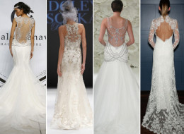 22 Hot-Off-The-Runway Wedding Gowns That Look Even Better From The Back