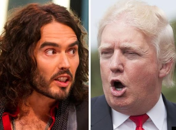 russell brand donald trump