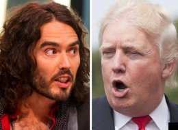 Epic Twitter Battle As 'Bald' Donald Trump Takes On 'Loser' Russell Brand