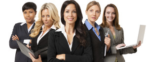 Group Of Women In Business