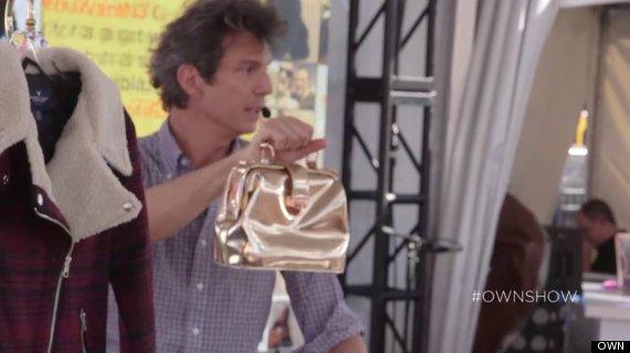 own ownshow adam glassman fall trend bag