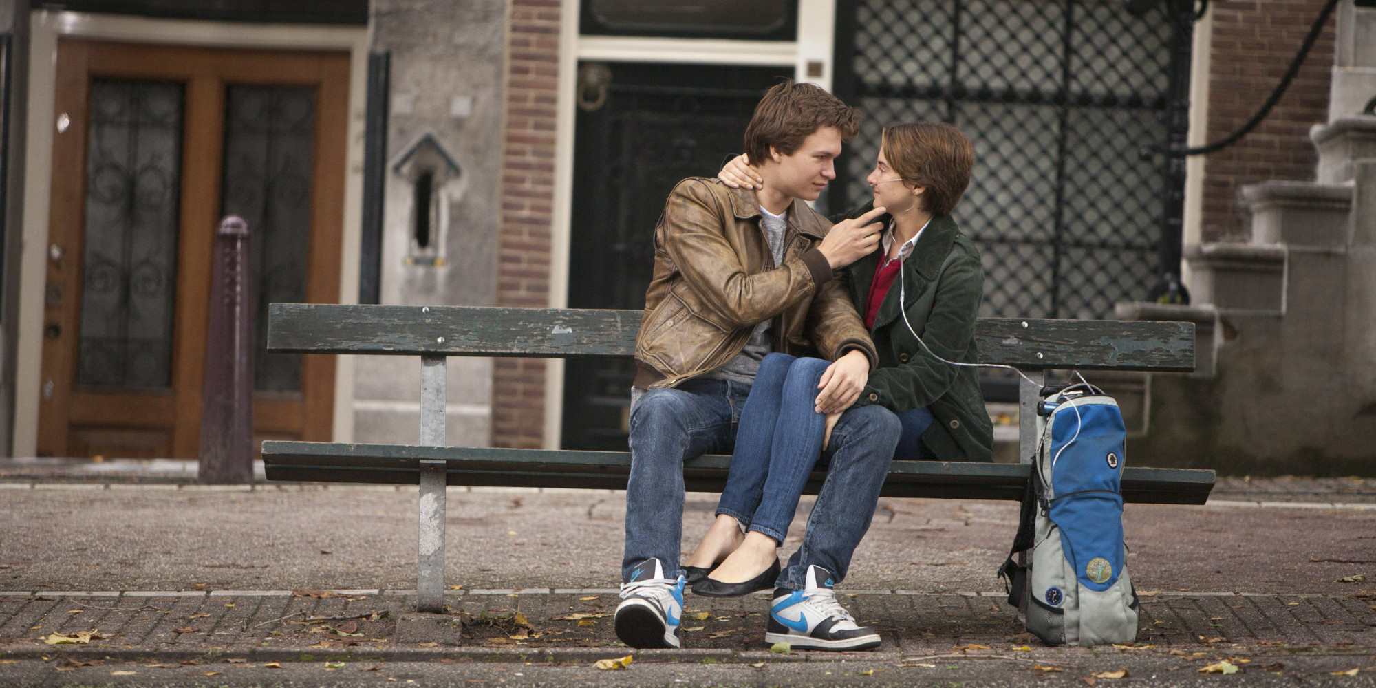 Ansel Elgort Found The Bench From The Fault In Our Stars