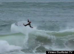 Kelly Slater Lands Surfing's First 540, Confirms He's A God