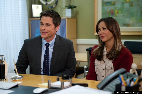 rob lowe rashida jones