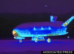 Military's Top-Secret Space Plane Lands In California