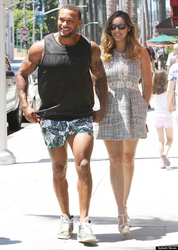 Kelly brook and david mcintosh back together pair bond over leaked