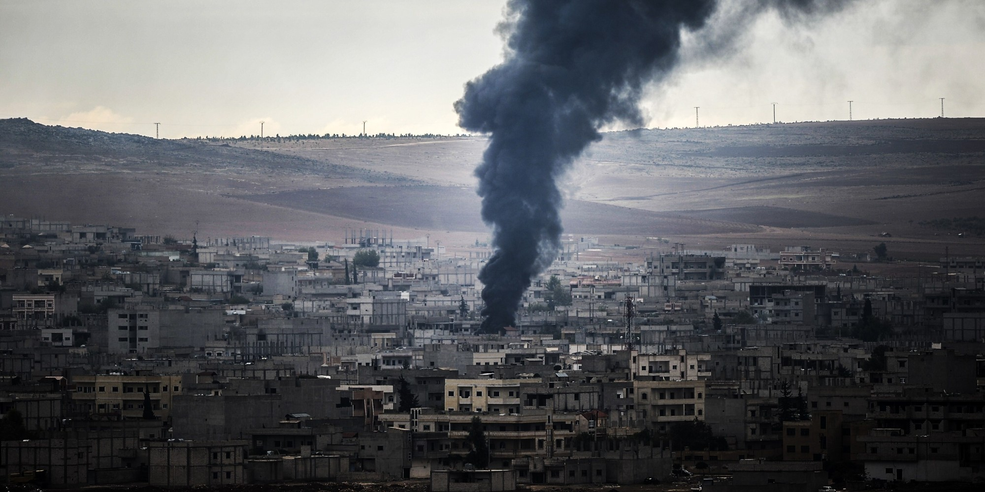 U.S. Air Drops Arms To Kurdish Forces Fighting ISIS In Kobani