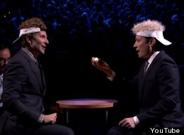 You Want Suspense? Watch Jimmy Fallon And Bradley Cooper Play Egg Russian Roulette