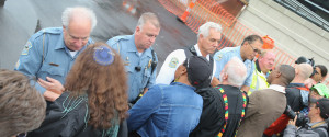 Ferguson Clergy Arrested